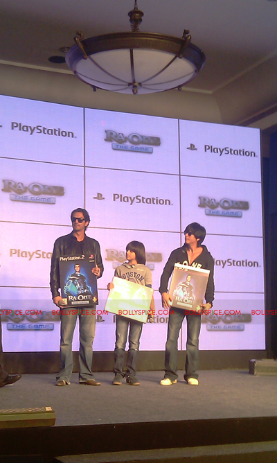 11nov raonegamelaunch 16 Ra.One game launch
