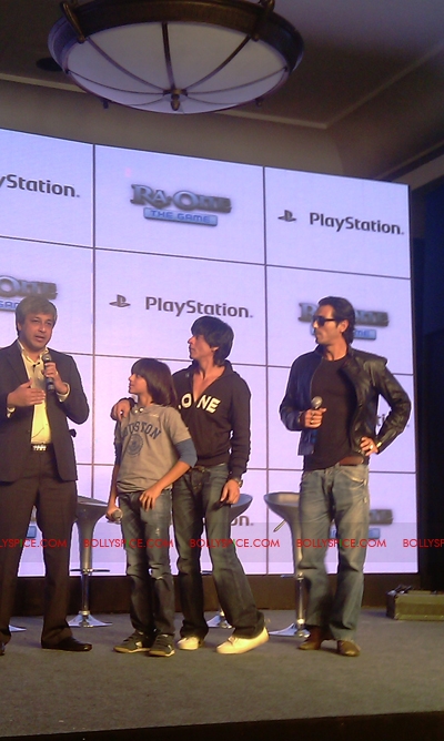 11nov raonegamelaunch 30 Ra.One game launch