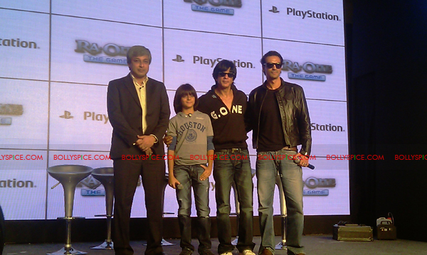 11nov raonegamelaunch 33 Ra.One game launch