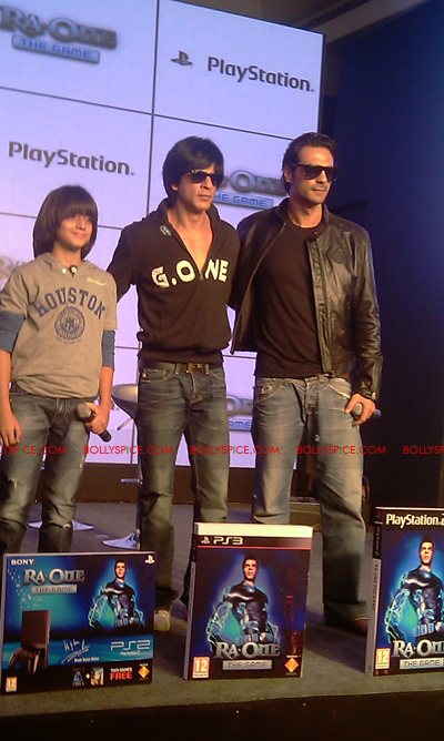 11nov raonegamelaunch 36 Ra.One game launch