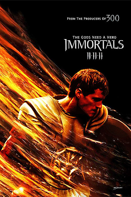 immortals1 Tarsem Singhs Immortals opens No.1 at Weekend Box Office