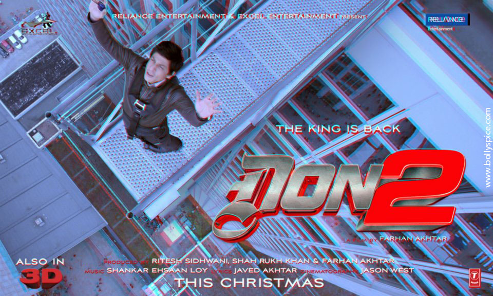 11dec Don2 3Dposter01 Don 2 releases 3D posters!