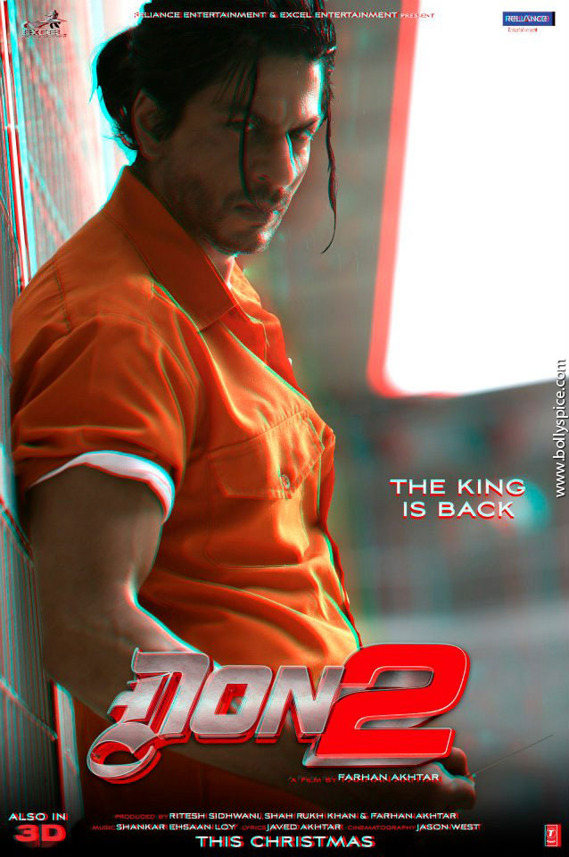 11dec Don2 3Dposter02 Don 2 releases 3D posters!
