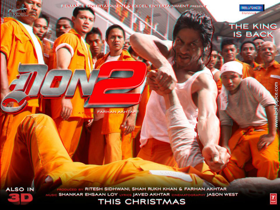 11dec Don2 3Dposter03 Don 2 releases 3D posters!