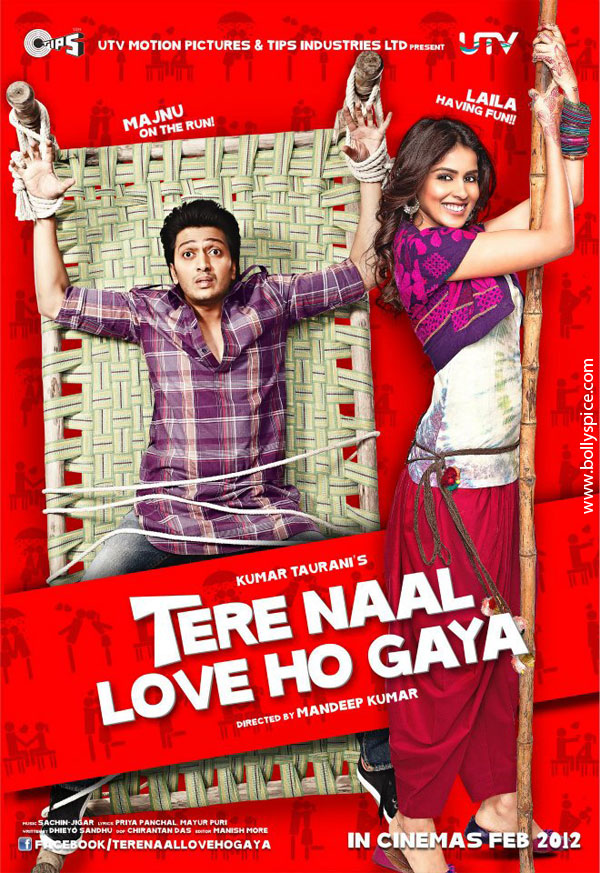 11dec TNLHG preview01 Riteish and Genelia star in a romcom Tere Naal Love Ho Gaya