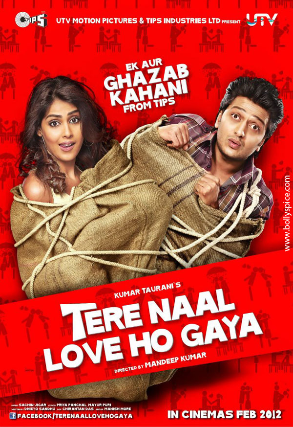11dec TNLHG preview02 Riteish and Genelia star in a romcom Tere Naal Love Ho Gaya