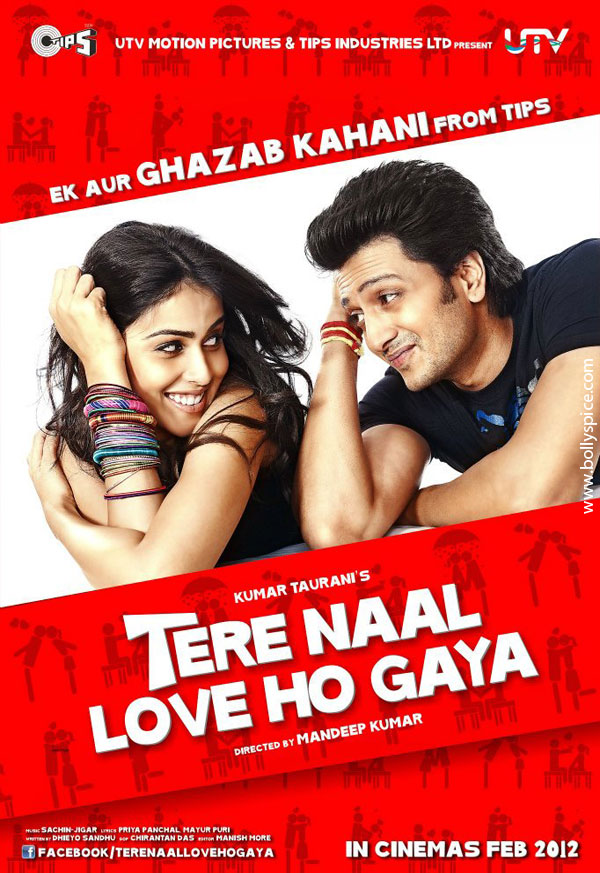 11dec TNLHG preview03 Riteish and Genelia star in a romcom Tere Naal Love Ho Gaya