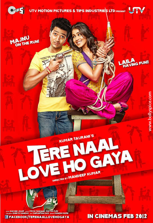 11dec TNLHG preview04 Riteish and Genelia star in a romcom Tere Naal Love Ho Gaya