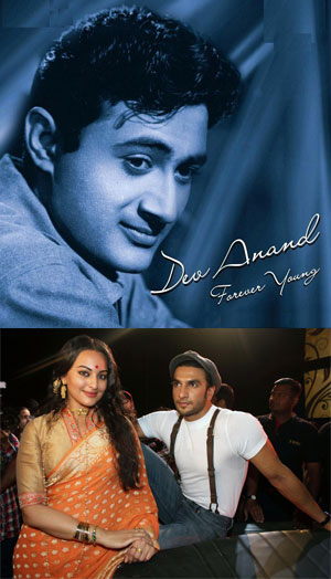 11dec devanand ranveer Dev Anand songs to be brought to life in Ranveer Singhs movie Lootera