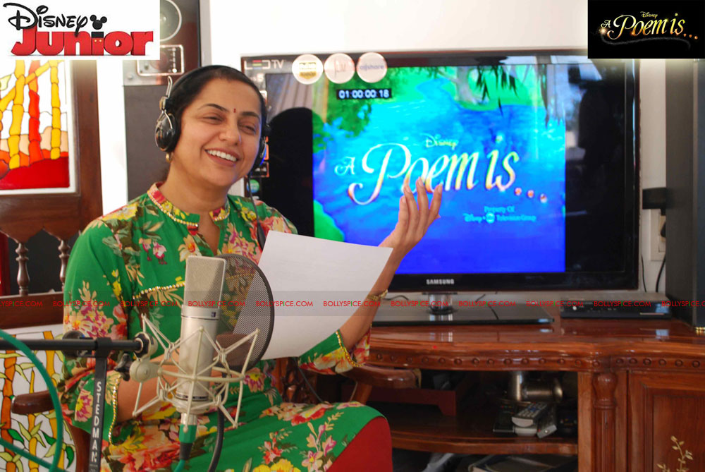 11dec disney junior02 Shabana Azmi, Suhasini Ratnam and Omi Vaidya lend their voices for two short animated series for Disney Junior