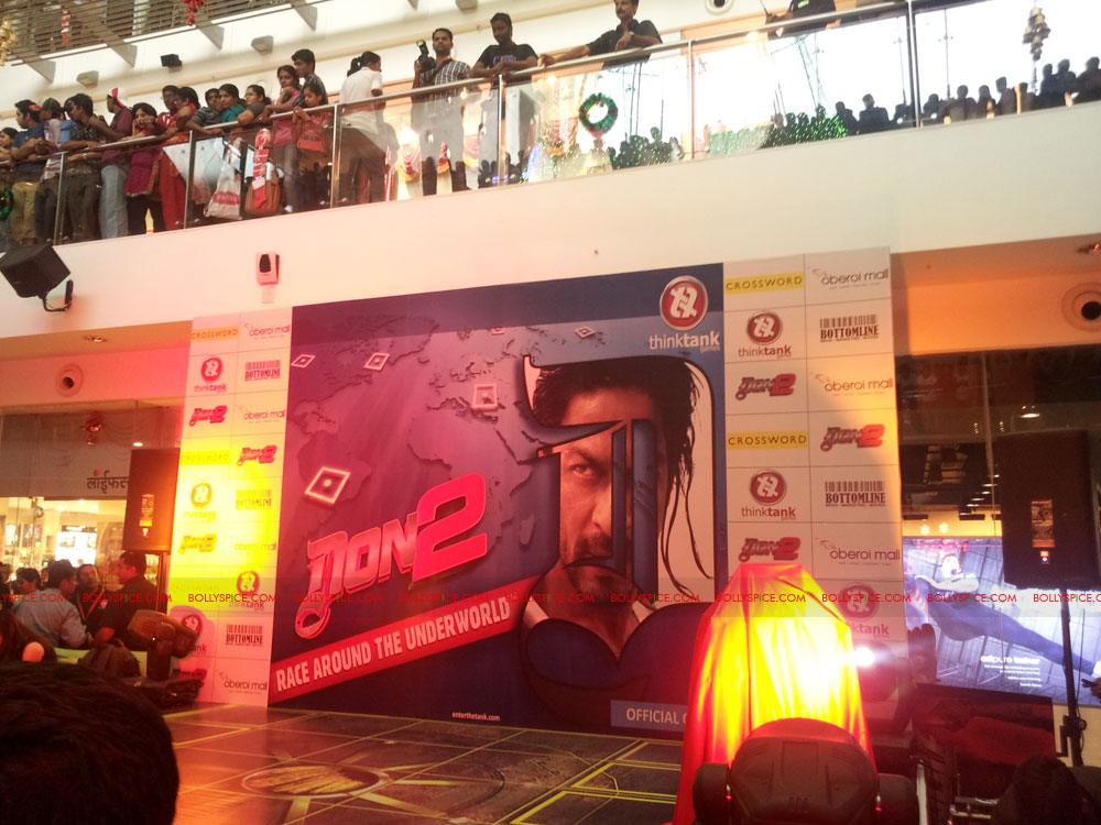 11dec don2 gamelaunch01 Shah Rukh Khan Launches the Cool Don 2 Board Game