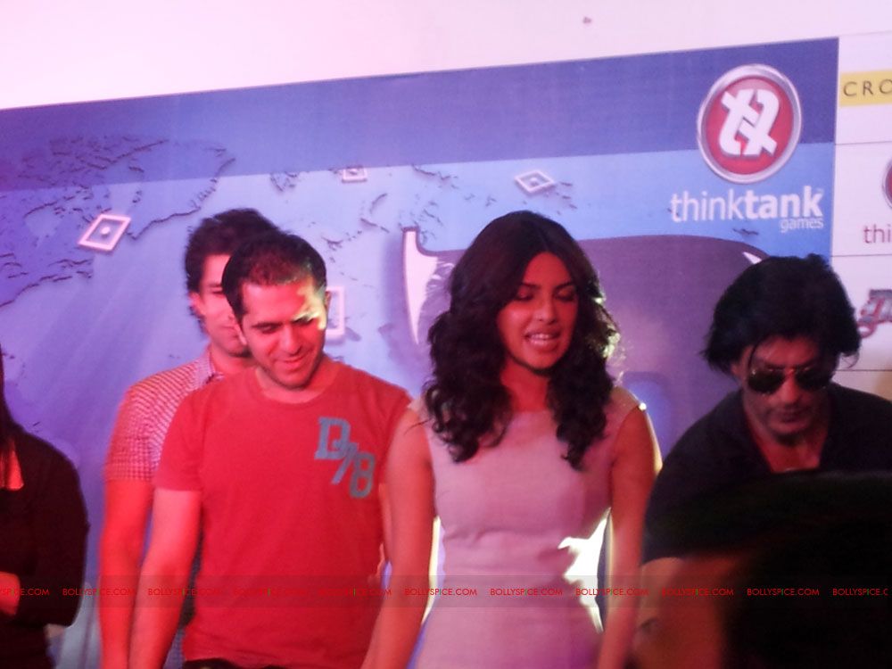 11dec don2 gamelaunch24 Shah Rukh Khan Launches the Cool Don 2 Board Game