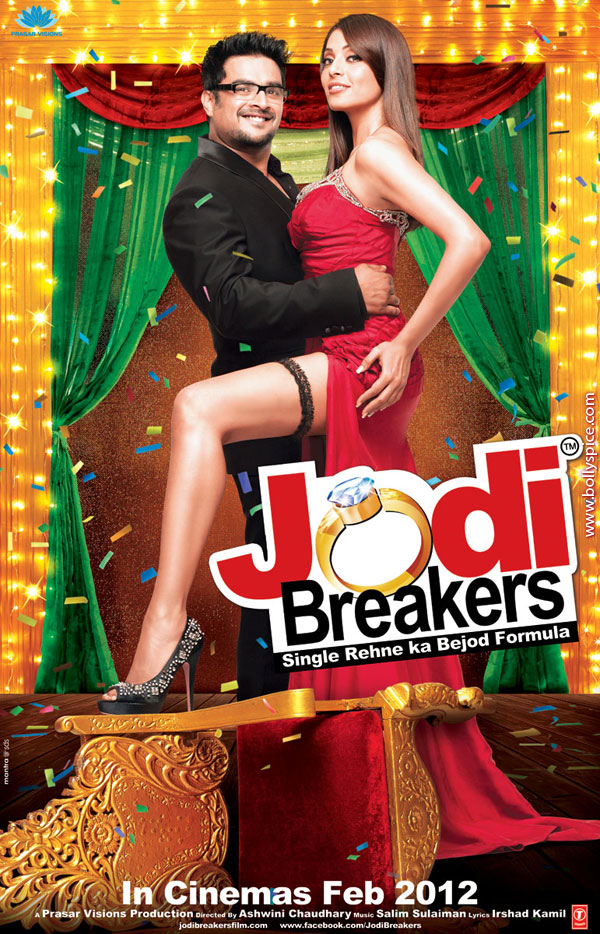 11dec jodibreakers poster01 Check out Madhavan and Bipasha in Jodi Breakers