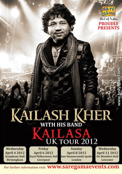 11dec kailasa worldtourposter01 Saregama announces Kailasa's first ever World Tour!