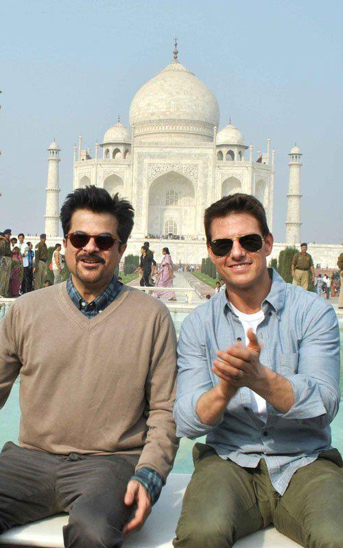 11dec tomcruisetajmahal06 You have to pinch me. I cant believe I am here   Tom Cruise