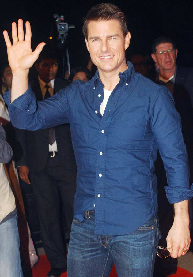 11dec tomscreening16 You have to pinch me. I cant believe I am here   Tom Cruise