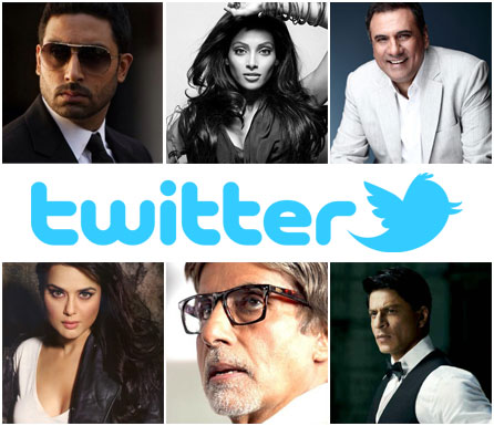 11dec top tweeters01 Top Bollywood Tweeters of 2011