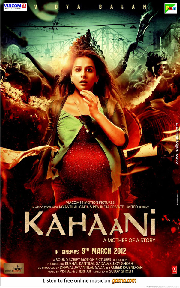 11nov kahaani1stlook First Look of Vidya Balans new movie Kahaani