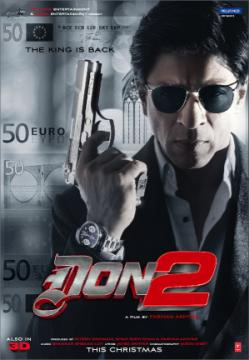 12dec don2uk Don 2 Enters the Top 10 UK Box Office on Its Opening Day