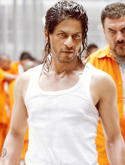 "12dec srkinterview02 ""Having done so many from the side of good, its exciting to play the bad guy.   Shah Rukh Khan"