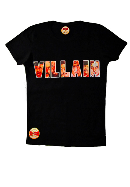 Screen Shot 2011 12 09 at 11.25.58 AM UK Readers! Win a Raj &Pablos Bollygood Jollygood Villain T Shirt!