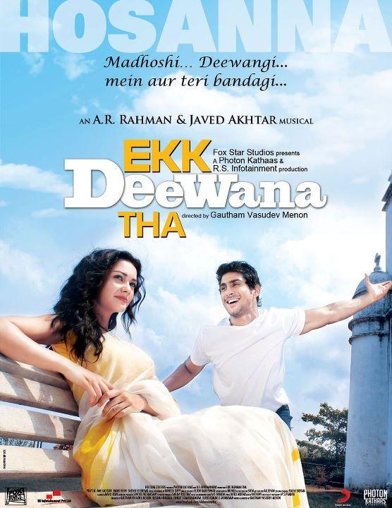 edt New Poster Hosana   Ekk Dewaana Tha!