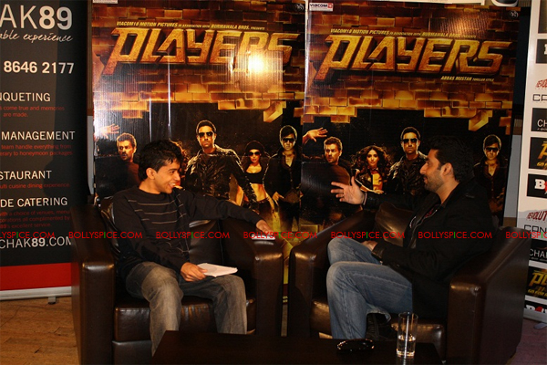 01jan abhiinterview 04 We are not here to win any awards or to get the greatest reviews  Abhishek Bachchan