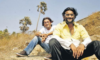 "01jan ajayatul 03 The music of Agneepath had to be full of grandeur and larger than life."" Music Directors Ajay Atul"