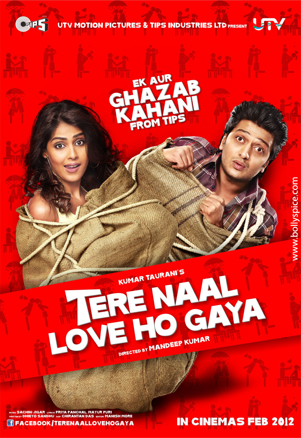 12jan TNLHG posters01 Piya O Re Piya  and more from Tere Naal Love Ho Gaya!
