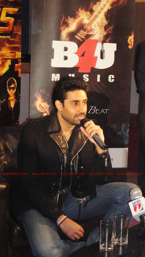 12jan abhi players PC04 Abhishek in London   Players press conference