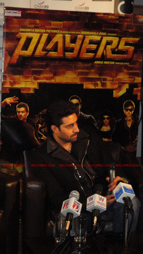 12jan abhi players PC09 Abhishek in London   Players press conference