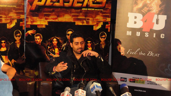 12jan abhi players PC11 Abhishek in London   Players press conference
