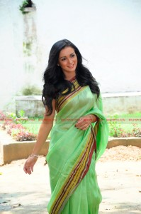 12jan amy loves saris01 199x300 Amy Jackson confesses her love of wearing traditional Indian clothes in Ekk Deewana Tha