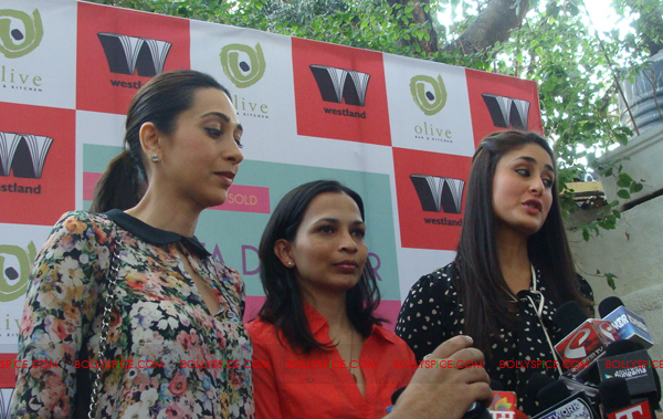 12jan kareena karishma rujuta06 Bebo And Lolo at Success Party of Tamasha