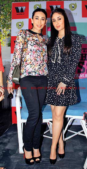 12jan kareena karishma rujuta08 Bebo And Lolo at Success Party of Tamasha