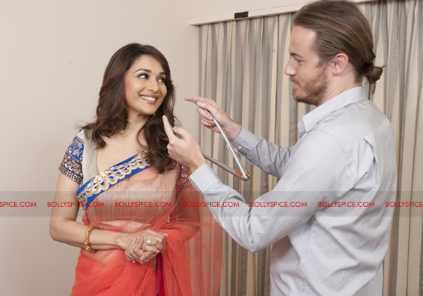 12jan madhuri nxttussaud03 Madhuri Dixit Nene next to have a wax figurine at Madame Tussauds Museum