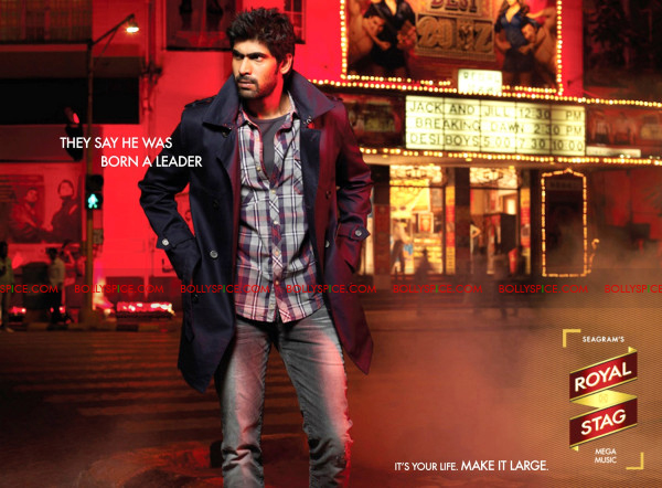 12jan rana royalstag01 Rana Daggubati the new brand ambassador of Royal Stag.