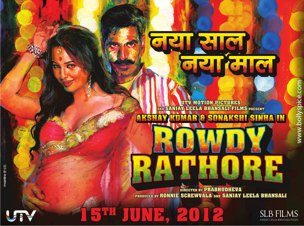 12jan rowdy rahore newlook New Look Rowdy Rathore with Akshay Kumar and Sonakshi Sinha