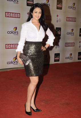12jan whwn screenawards05 Who's Hot, Who's Not – Colors Screen Awards 2012