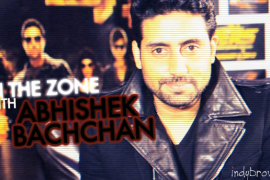 Abhishek in the zone