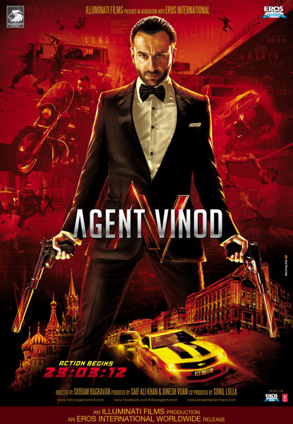 Agent Vinod Poster1 Get Ready for Agent Vinod!