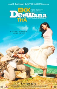 Ekk Deewana Tha The Album Cover 192x300 UK Readers: Win CDs of A.R. Rahmans musical romance Ekk Deewana Tha