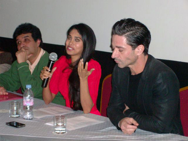 02feb naachlelondon 01 BollySpice at the press conference of the first ever Bolly Brit film Naachle London