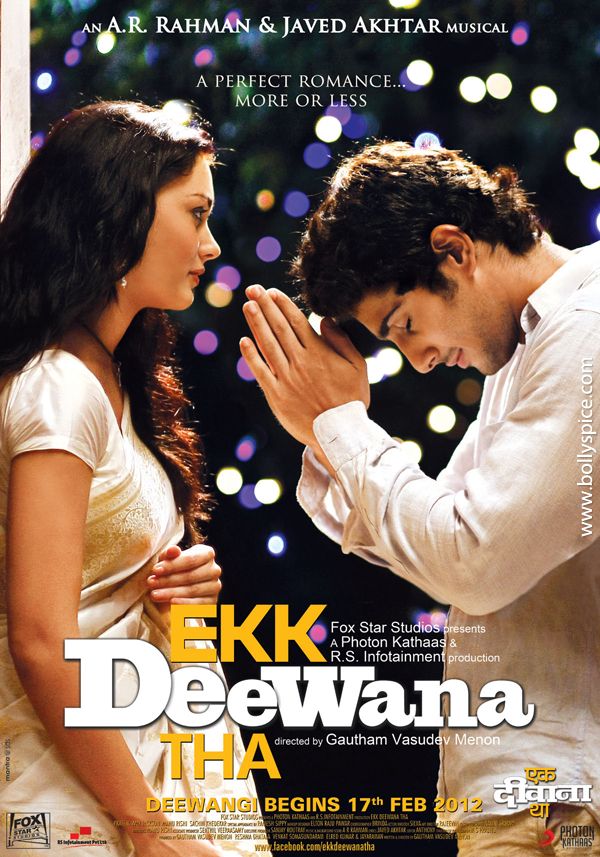 12feb EDT 2endings Ekk Deewana Tha with two endings?