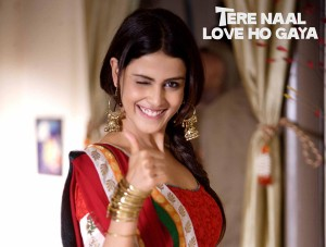 12feb geneliaTNLHGintrvw01 300x227 Tere Naal Love Ho Gaya is not pretentious.   Genelia Dsouza