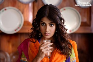 12feb geneliaTNLHGintrvw02 300x200 Tere Naal Love Ho Gaya is not pretentious.   Genelia Dsouza