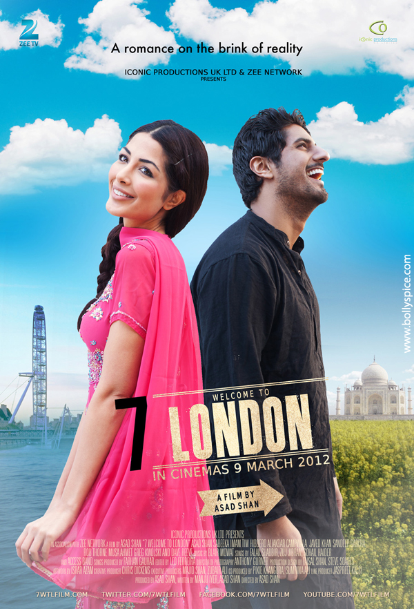 12jan 7WTL poster01 7 Welcome to London releasing music on 7th February