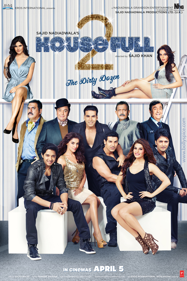 12jan housefull2 poster01 First Look: Housefull 2 Theatrical Trailer