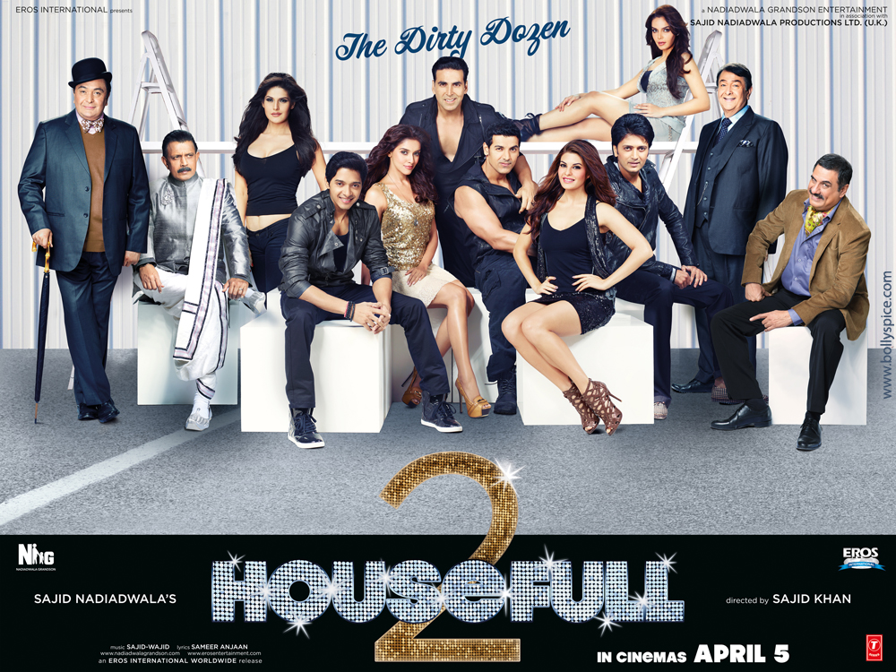 12jan housefull2 poster02 First Look: Housefull 2 Theatrical Trailer