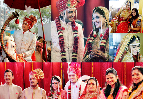 12jan marathiwedding Report: Riteish & Genelia Big Fat Bollywood Wedding!